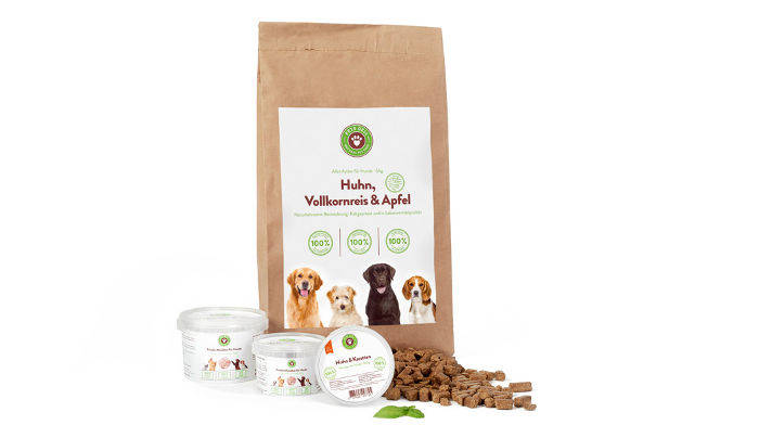 Produktabbildung Hunde Basisnahrung