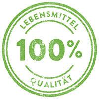 100% Lebensmittelqualität