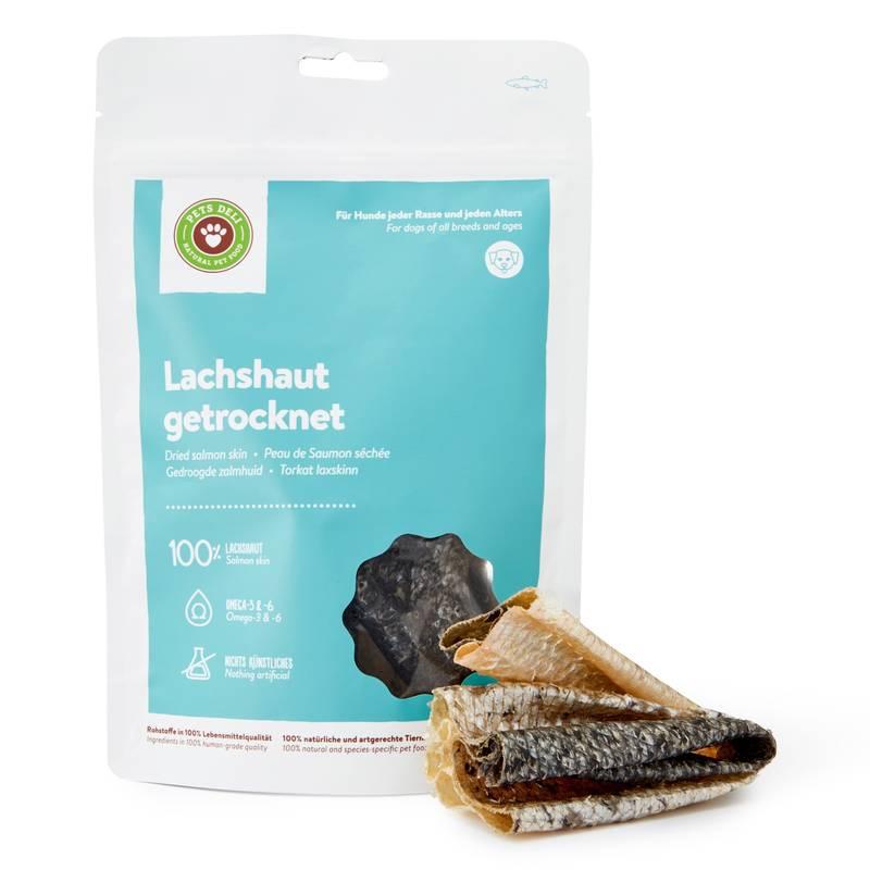 Lachshaut Trockenfisch für Hunde_1