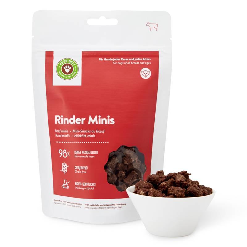 Rinder-Minis Cookies für Hunde_1