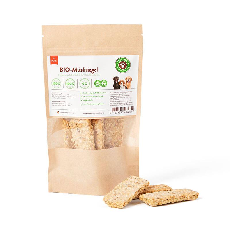 BIO-Müsliriegel Cookies für Hunde_1
