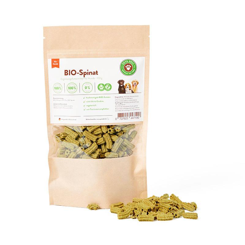 BIO-Spinat Cookies für Hunde_1