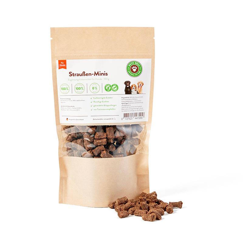 Straußen-Minis Cookies für Hunde_1