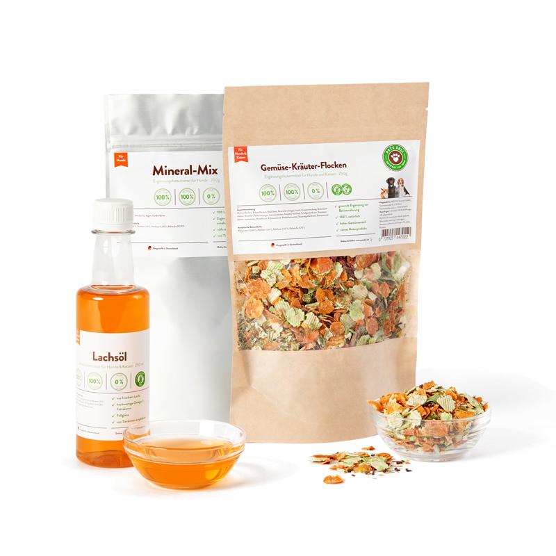 Vital-Paket mit Lachsöl für Hunde