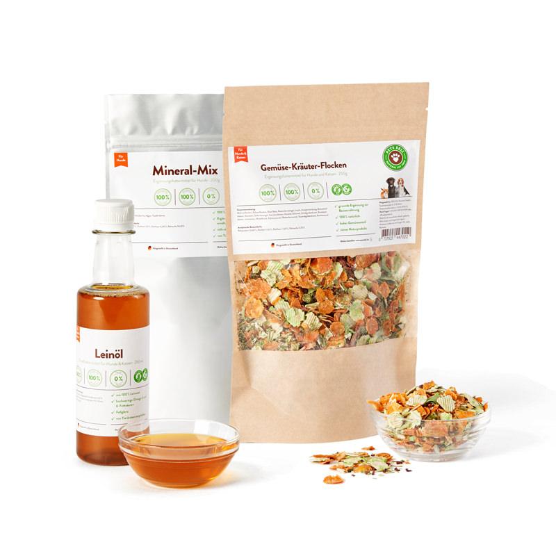 Vital-Paket mit Leinöl für Hunde